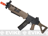 ICS Full Metal SIG 551 SWAT Airsoft AEG Rifle - Dark Earth