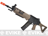 z ICS Full Metal SIG 551 Long Barrel Airsoft AEG Rifle - Dark Earth