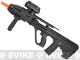 JG AU-3G Tactical Airsoft AEG with Tactical RIS Handguard - Black