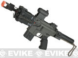 JG Tank Airsoft M4 CQB Carbine AEG w/ Collapsible Stock (Package: Black - Basic Battery Package)