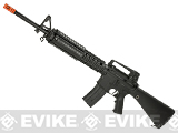 Full Size JG DMR M16 with Full Length RIS Hand Guard - Black (Package: Rifle)