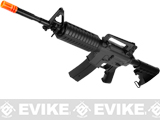 JG M4A1 Carbine Airsoft AEG Rifle w/ Enhanced LiPo Ready Upgraded Gearbox (Package: Black - Gun Only)