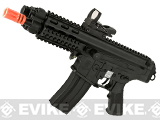 Echo1 Fully Licensed Robinson Armament Polymer XCR-P Airsoft AEG Rifle / AR Pistol (Color: Black)