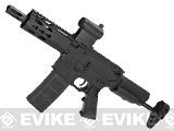 Krytac Full Metal Trident PDW Airsoft AEG Rifle - Black