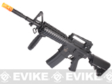 Lancer Tactical M4RIS Airsoft AEG Rifle - Black