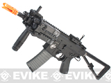 Lancer Tactical KAC Knight's Armament Licensed Full Metal PDW Airsoft AEG Rifle (Two Magazine)