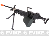 Cybergun FN Licensed M249 Airsoft Machine Gun (Version: MK-I SAW / Black / AEG)