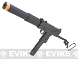 JG Full Size / Metal Gearbox MAC-10 SMG Airsoft AEG Rifle