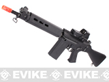JG Full Metal FAL Carbine Full Size Airsoft AEG Rifle by Lancer