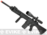 Matrix Custom Full Metal SR-25 Airsoft AEG Sniper Rifle