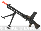 (July 4th EPIC SALE!) Matrix Full Metal ZB-30 ZB-26 Airsoft AEG Machine Gun w/ Folding Bipod (Real Wood)