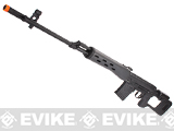 King Arms Full Metal Kalshnikov SVD Airsoft AEG Sniper Rifle