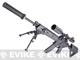 Evike SuperMax Magpul DMR Airsoft AEG Rifle - (Black)