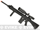 A&K Full Metal SR-25 Airsoft AEG Rifle w/ Zombie Killer Trademarks