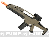 SRC SM8 Airsoft AEG Rifle w/ Two Hi-Cap Mags (Color: Desert Tan)