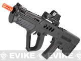 Israeli Weapon Licensed S&T TAVOR-21 TAR 21 CQC Airsoft AEG Rifle - Black (Full Metal Gearbox)