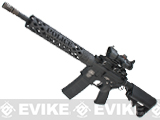 z Evike Unique AR Custom Full Metal M4 Airsoft AEG Rifle - SWAT