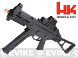 H&K UMP Competition Series Airsoft AEG Rifle with metal gearbox by Umarex - Black