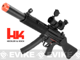 H&K Licensed MP5 SD5 Full Metal Elite Airsoft AEG Rifle by G&G Top Tech