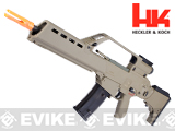 H&K G36KV Airsoft Blowback AEG Rifle by ARES / Umarex - (Flat Dark Earth)