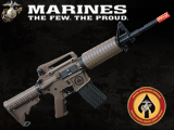 USMC Licensed Limited Special Edition ER08 M4 MARSOC Carbine Airsoft AEG Rifle