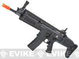 FN Herstal Full Metal SCAR Light CQC Airsoft AEG Rifle by VFC - Black