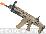 FN Herstal Full Metal SCAR Light CQC Airsoft AEG Rifle by VFC - Dark Earth
