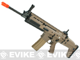 Cybergun FN Herstal Licensed Full Metal SCAR Light Airsoft AEG Rifle by VFC (Model: Standard / Dark Earth)