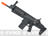 Cybergun FN Herstal Licensed Full Metal SCAR Heavy Airsoft AEG Rifle by VFC (Model: CQC / Black)