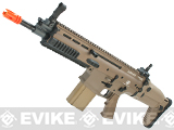 Cybergun FN Herstal Licensed Full Metal SCAR Heavy Airsoft AEG Rifle by VFC (Model: CQC / Dark Earth)
