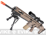 VFC SCAR MK17 SSR Full Metal Airsoft AEG Rifle - Dark Earth