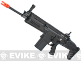 Cybergun FN Herstal Licensed Full Metal SCAR Heavy Airsoft AEG Rifle by VFC (Model: Standard / Black)