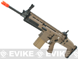 FN Herstal Full Metal SCAR Heavy STD Airsoft AEG Rifle by VFC - Dark Earth