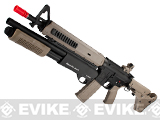 G&P Magpul Battle Rifle Airsoft AEG w/ Masterkey Shotgun - Dark Earth