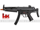 z Heckler & Koch / H&K MP5 Navy Dual Power Fully Auto / Full Size Airsoft AEG - Black