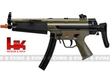 z Heckler & Koch / H&K MP5 Navy Dual Power Fully Auto / Full Size Airsoft AEG - Dark Earth