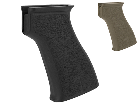PTS / US PALM Licensed Polymer AK Combat Grip for GBB Rifles (Color: Black)
