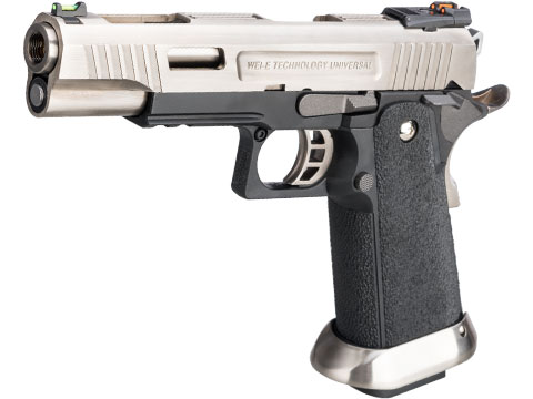 WE-Tech Hi-Capa Full Auto T-Rex Competition Pistol (Model: 5.1 / Silver)