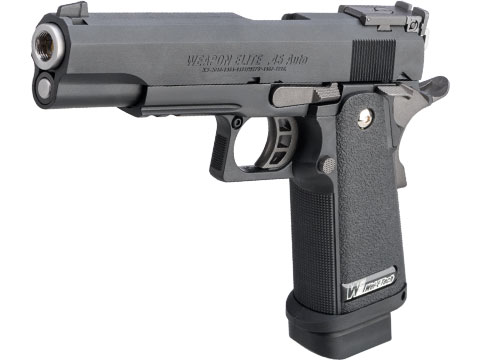 WE Full Metal Hi-CAPA 5.1 R-Version Full Auto Tactical Airsoft Gas Blowback Pistol