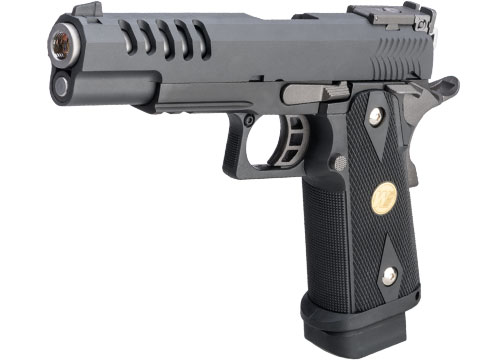 WE-Tech Hi-CAPA 5.1 Full Auto Hyper Speed Airsoft Gas Blowback Pistol w/ Threaded Barrel