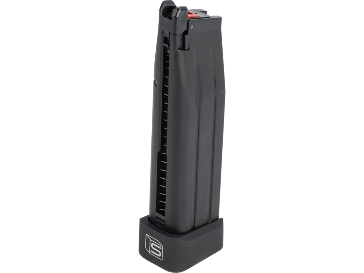 EMG Salient Arms International 30 Round Magazine for SAI 2011 Gas Airsoft Pistol (Color: Black / CO2)