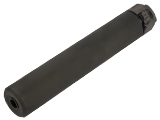 Angry Gun 8.5 SOCOM 762 Mock Suppressor with Flash Hider for Airsoft Rifles (Color: Black / 14mm Negative)