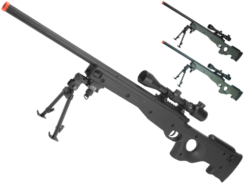 AGM Type 96 Airsoft Bolt Action Sniper Rifle (Package: Black / Gun Only)