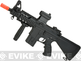AGM Full Metal M4 Stubby Killer Airsoft AEG Rifle with Compact Fixed Stock