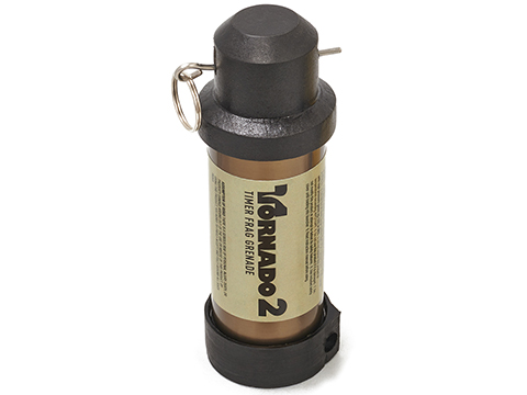 Airsoft Innovations Tornado 2 Timer Frag Grenade (Color: FDE)