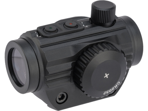 AIM Sports 1x20mm 5 MOA Dual Illuminated Micro Dot Sight