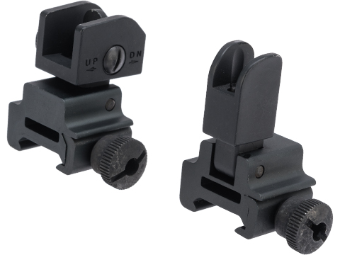 Matrix Tactical Folding Front and Rear Sight Set