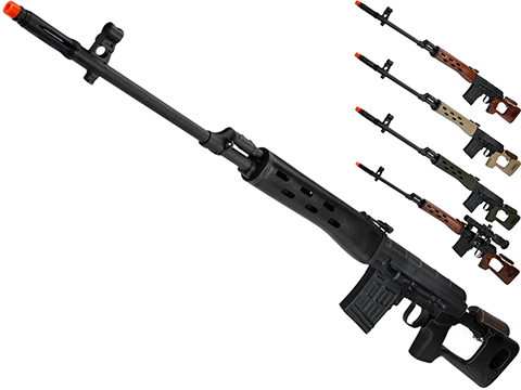 AIM Co2 High Power Gas Blowback AK SVD Airsoft GBB Sniper Rifle