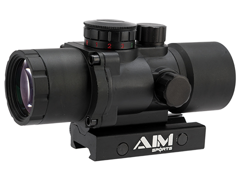 AIM Sports Prismatic Series 3X36 Rifle Scope with Rapid Ranging Reticle