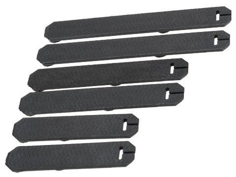 AIM Sports 6 Piece Keymod Rail Covers